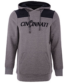 Under Armour Men's Cincinnati Bearcats Threadborne Fleece Hoodie