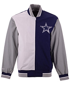 Mitchell & Ness Men's Dallas Cowboys Team History Warm Up Jacket 2