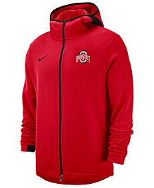 Nike Men's Ohio State Buckeyes Showtime Full-Zip Hooded Jacket