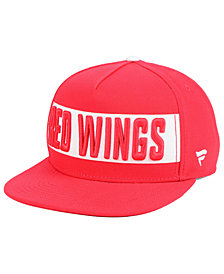 Authentic NHL Headwear Detroit Red Wings Iconic Facing Snapback Cap