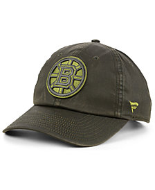 Authentic NHL Headwear Boston Bruins Fundamental Waxed Adjustable Cap