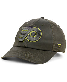 Authentic NHL Headwear Philadelphia Flyers Fundamental Waxed Adjustable Cap