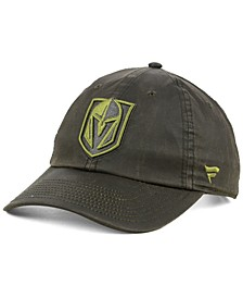 Vegas Golden Knights Fundamental Waxed Adjustable Cap