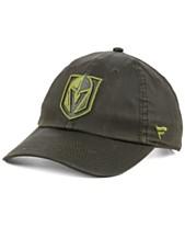 ce3d792f Authentic NHL Headwear Vegas Golden Knights Fundamental Waxed Adjustable Cap