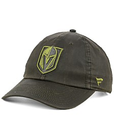 Authentic NHL Headwear Vegas Golden Knights Fundamental Waxed Adjustable Cap