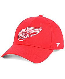 Detroit Red Wings Fan Basic Adjustable Cap