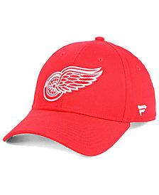 Authentic NHL Headwear Detroit Red Wings Fan Basic Adjustable Cap