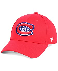 Authentic NHL Headwear Montreal Canadiens Fan Basic Adjustable Cap