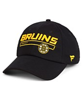 09954376500 Authentic NHL Headwear Boston Bruins Rinkside Fundamental Adjustable Cap