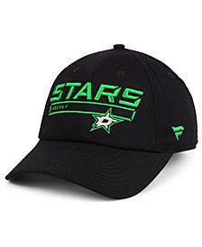 Authentic NHL Headwear Dallas Stars Rinkside Fundamental Adjustable Cap