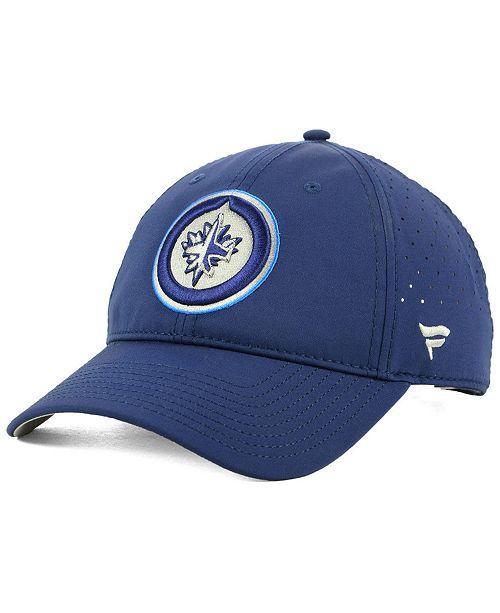 Authentic NHL Headwear Winnipeg Jets Pro Clutch Adjustable Cap