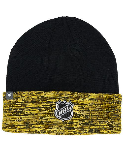 online store ded41 0ddf7 Authentic NHL Headwear Pittsburgh Penguins Pro Rinkside Cuffed Knit Hat ...