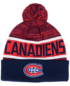 Authentic NHL Headwear Montreal Canadiens Goalie Knit Hat