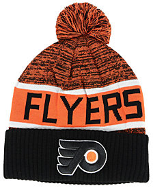 Authentic NHL Headwear Philadelphia Flyers Goalie Knit Hat