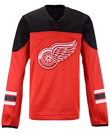 Detroit Red Wings Defenseman Fleece Sweatshirt, Big Boys (8-20)