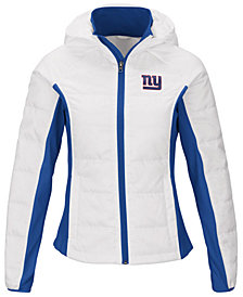 G-III Sports Women's New York Giants Defense Polyfill Jacket
