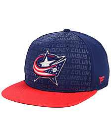 Authentic NHL Headwear Columbus Blue Jackets Rinkside Snapback Cap