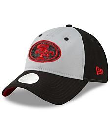 New Era Women's San Francisco 49ers Gray Glitter 9TWENTY Cap