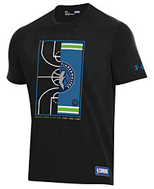 Under Armour Men's Minnesota Timberwolves Banners Begin in the Gym T-Shirt