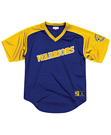 Mitchell & Ness Men's Golden State Warriors Final Seconds Mesh V-Neck Jersey