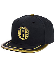 Mitchell & Ness Brooklyn Nets Soutache Viz Snapback Cap