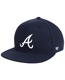 '47 Brand Boys' Atlanta Braves Basic Snapback Cap