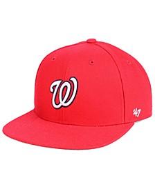 Boys' Washington Nationals Basic Snapback Cap