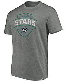 Majestic Men's Dallas Stars Flex Classic Tri-Blend T-Shirt