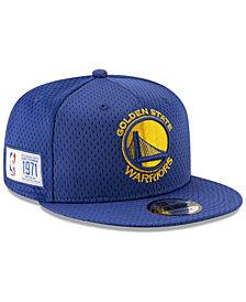 New Era Golden State Warriors Jock Tag 9FIFTY Snapback Cap