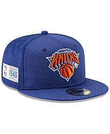 New Era New York Knicks Jock Tag 9FIFTY Snapback Cap