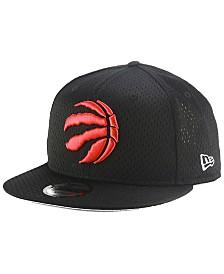 New Era Toronto Raptors Jock Tag 9FIFTY Snapback Cap