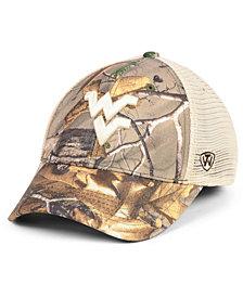 Top of the World West Virginia Mountaineers Prey Meshback Camo Snapback Cap