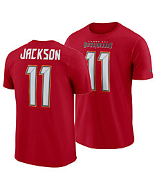 Nike Men's DeSean Jackson Tampa Bay Buccaneers Pride Name and Number Wordmark T-Shirt