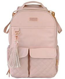 Itzy Ritzy Boss Backpack Diaperbag- Blush