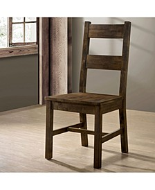 BelTon I Rustic Oak Dining Chair (Set of 2)