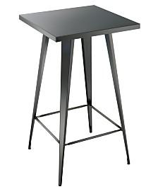Roth Industrial Metal Bar Table