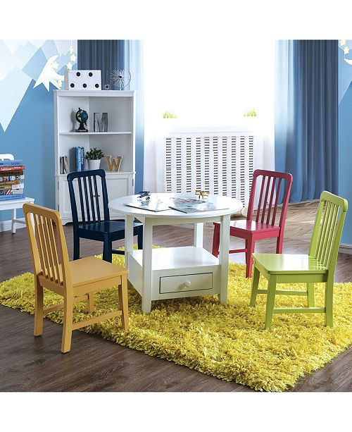 Furniture of America Rowley I Youth Table Set