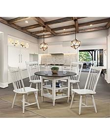 Gatlin I Two-Shelf Round Dining Table