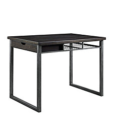Forsberg Counter Height Storage Table