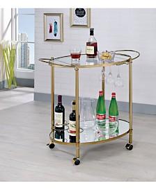 Impresa Contemporary Serving Cart