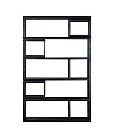 Carbon Modern Bookcase