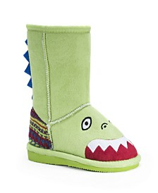 Muk Luks Kid's Cera Dinosaur Boots