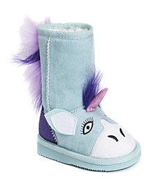Muk Luk Kid's Rainy Unicorn Boots