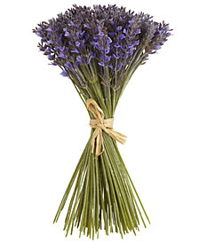 """Nearly Natural 19"""" Lavender Artificial Flower Bundle with 144 Individual Flowers"""