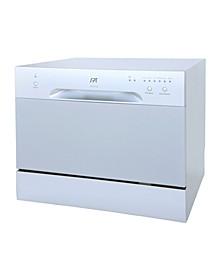 SPT Countertop Dishwasher in Silver