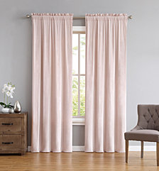 Truly Soft Everyday Velvet Blush Drape Set