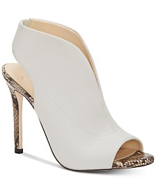 Jessica Simpson Javrey Peep-Toe High-Heel Shooties
