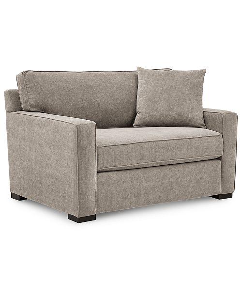Sensational Radley 54 Fabric Chair Bed Created For Macys Cjindustries Chair Design For Home Cjindustriesco