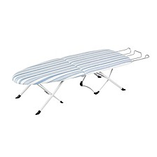 Foldable Tabletop Ironing Board with Iron Rest