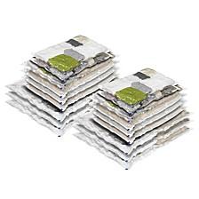 18 Pack Vacuum Bags, Combo Set